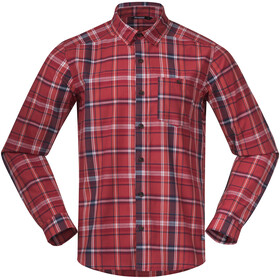Bergans Kikut Shirt Men red check